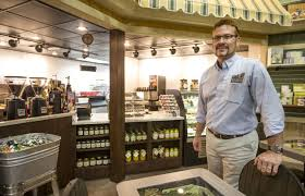 garden center adds cafe train ride