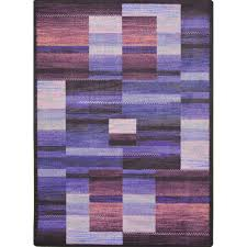 Joy Carpets Kid Essentials Boomblox Purple Rug Studio