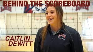 Behind the Scoreboard: Caitlin DeWitt - YouTube