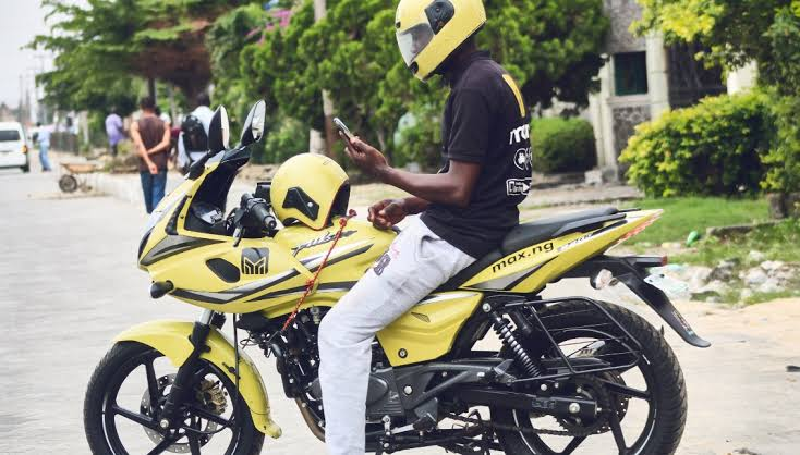 Image result for bike hailing in nigeria images""