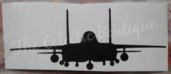 Vinyl Car Decal Strike Eagle F 15e Front View Etsy