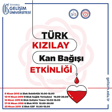 Türk Kızılay Kan Bağışı Etkinliği... - Gelişim Üniversitesi
