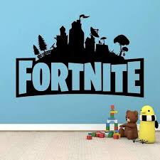 A Popular Game Fortnite Bedroom Wall Decoration Graffiti Stickers On The Night Wall Of The Fort Wall Decals Home Wall Decals Home Decor From Luckyartware2 12 97 Dhgate Com