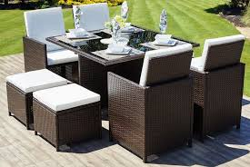 rattan garden furniture wowcher