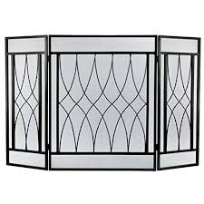 fire place doors wrought iron