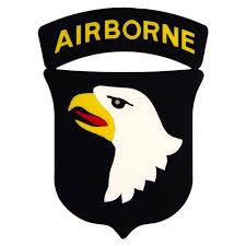 United States Army 101st Airborne Division Clear Window Decal At Sticker Shoppe