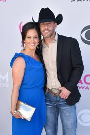 Kimberly and Aaron Watson | Country Music's Hottest Couples Arrive in Style  For the ACM Awards | POPSUGAR Celebrity Photo 14