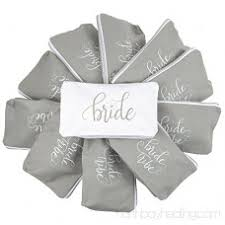 11 piece set of grey bride tribe and