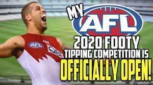 MY AFL 2020 FOOTY TIPPING COMPETITION ...