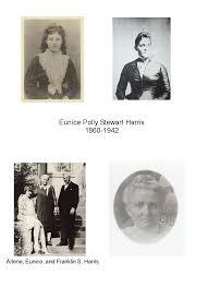 Harris Family History: Eunice Polly Stewart Harris