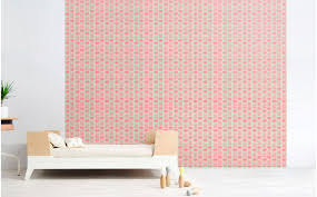 Pink Baby Monkey Wallpaper Girl Nursery Wallpaper And Wall Murals