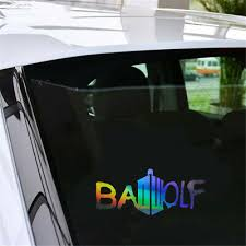 Bad Wolf Funny Wall Sticker Car Truck Window Motorcycle Vinyl Decal Removable Ebay