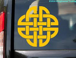 Celtic Knot V3 Vinyl Sticker Endless Mystic Knot Die Cut Decal