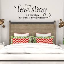 love story is beautiful wall decal wall