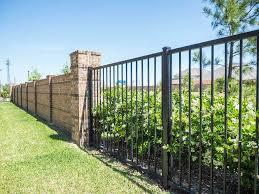 Precast Concrete Stone Column Fencing Aber Fence
