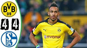 Borussia Dortmund vs Schalke 04 – 4-4 – All Goals & Highlights 25 ...