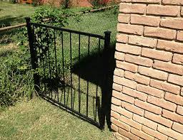 Removable Fence Panels Are Practical Fossil Forge Design