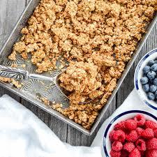 healthy peanut er granola