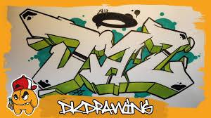 draw graffiti names