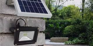 best solar powered flood lights 2020
