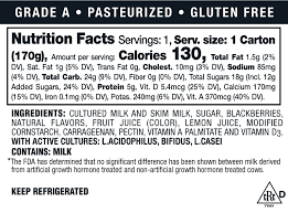 yogurt whole lowfat fat free