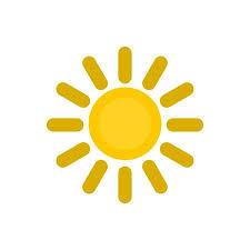 Sol En El Patrón De Cielo. Ilustración De Dibujos Animados De Sol ...