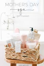 mother s day gift basket idea spa at