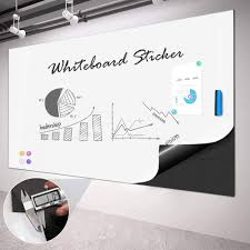 Whiteboard Sticker For Wall Dry Erase Sheet Wallpaper Double Layer Officetopify