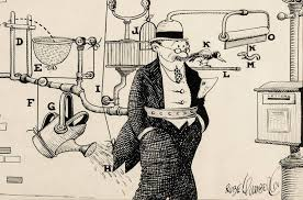 Exploring an Inventor's Cartoons in 'The Art of Rube Goldberg' - The New  York Times
