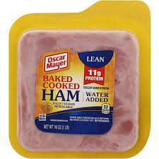 oscar mayer ham baked cooked ham