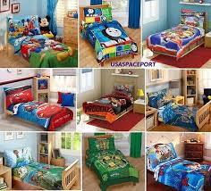 4pcs thomas train toddler bed