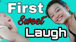 Zyon First Laugh | Abigail Domingo - YouTube