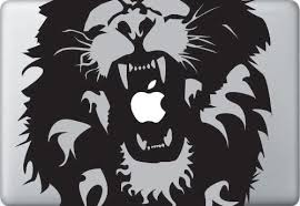 Amazon Com Roaring Lion Macbook Decal Skin Sticker Laptop Decal Sticker Vinyl Car Home Truck Window Laptop Kitchen Dining