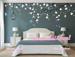 Tree Wall Decal Wall Sticker Baby Nursery Decals Girls Room Etsy