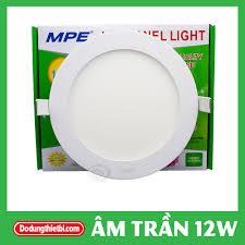 Đèn Led Panel Âm Trần 12W Ø170 mm - Chính hãng MPE
