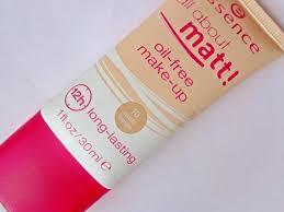 essence all about matt oil free make