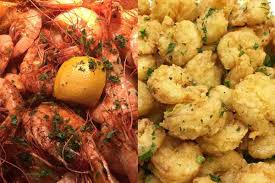 Shrimp in Seafood World Buffet