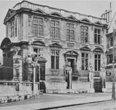 Plate 1: College Fronts and Quadrangles. Old Ashmolean Building ...