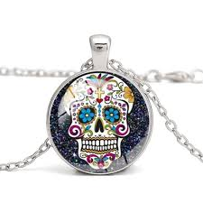 whole sugar skull pictures glass