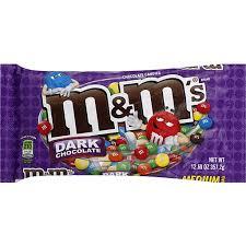 m m s um bag dark chocolate cans