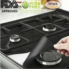 gas stove burner covers mat reusable