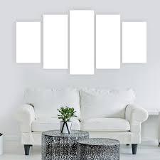 5 Panel Custom Canvas Prints Panel Wall Art Com