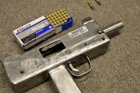 homemade guns seized