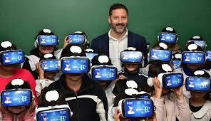 Primer Aula de Realidad Virtual en 360º en una escuela Pública ...