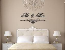 Mr And Mrs Wall Art Vinyl Black Decal With Flourish For Etsy Home Decor Home Vinyl Wall Art