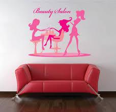 Cik1171 Full Color Wall Decal Manicurist Barber Girl Beauty Salon Stickersforlife
