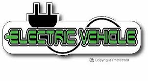 Electric Car Vehicle Ev Bumper Sticker Decal Leaf Tesla Bmw I3 Ebay