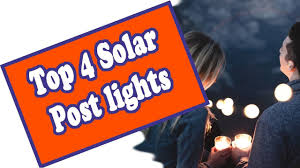 Top 4 Solar Fence Post Lights For 5x5 Poles Review Of The Best Outdoor Solar Post Cap Lights Youtube