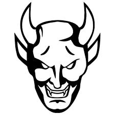 Devil Horns Gothic 1 Vinyl Sticker
