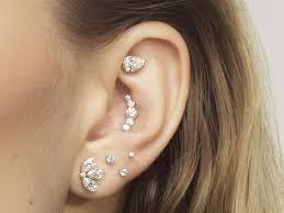 multiple ear piercing maria tash says